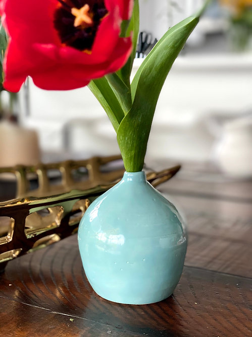 Little Turquoise Vase