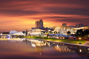 The Beautiful River Torrens in Adelaide,