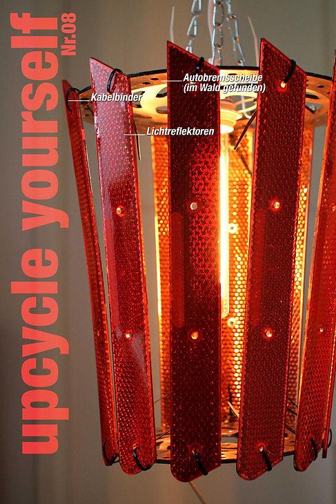 upcycling, interiour design, recycling, living room, andreas neuland, lichtobjekt, licht, beleuchtung, light, modern design