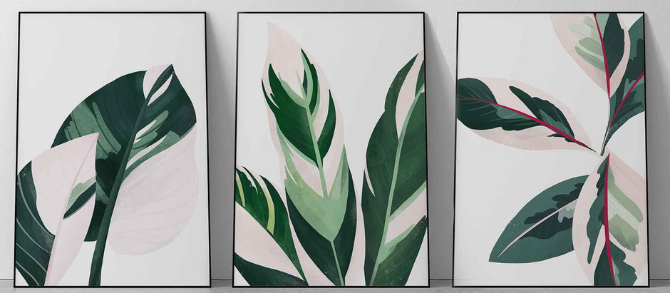 New Botanical Prints