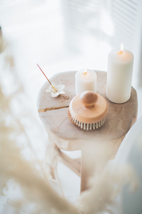 incense-and-white-candles-on-a-stool-386