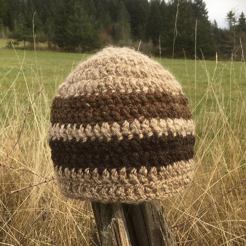 Shetland Wool Beanie Hat