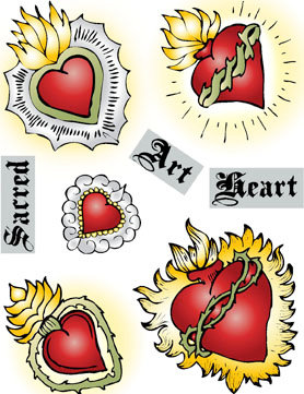 Sacred Heart Art Digital