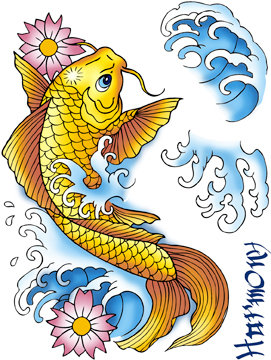 Koi Tattoo Digital