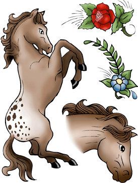 Wild Horses Rubber