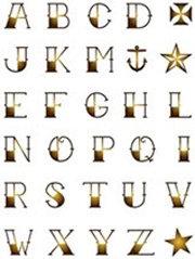 Tattoo Font Digital