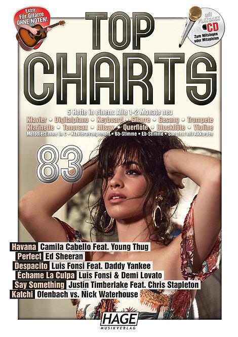 Top Charts 83 (mit CD)