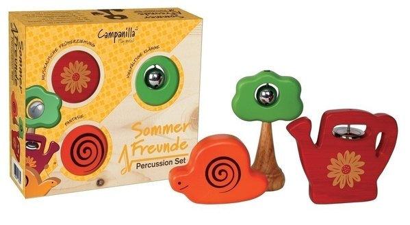 Campanilla Percussion Set Gartenfreunde 3-teilig