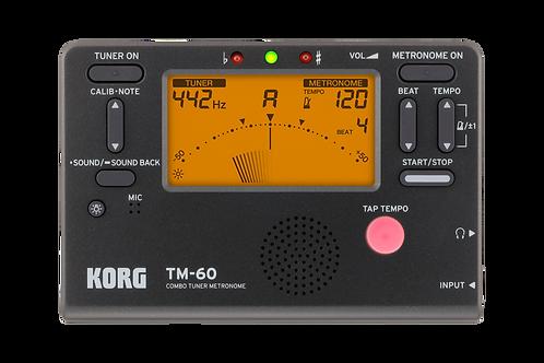 KORG Combo Tuner Metronom - TM-60