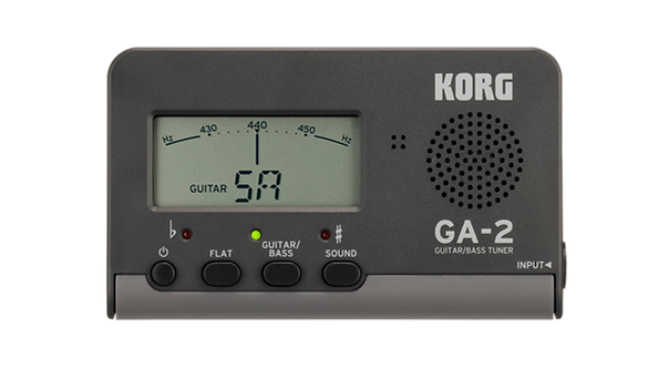 KORG Gitarren/ Bass Tuner GA-2