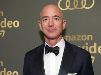 El dueño de Amazon ha logrado la fortuna más grande la historia durante la pandemia