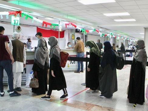Quinto contingente de refugiados afganos llega a la Ciudad de México