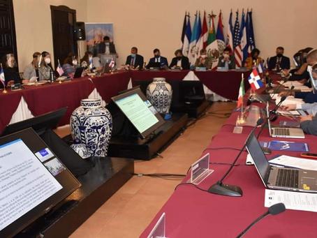 Inicia Conferencia Regional sobre Migración en Puebla con participación de 11 países