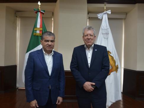 Fortalecen cooperación entre ONU México y el gobierno de Coahuila