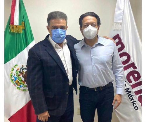 Carlos Lomelí Bolaños y Mario Delgado Carrillo
