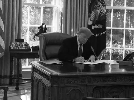 Trump decretará hoy emergencia nacional para construir muro