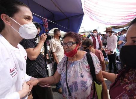 Propone Marcela Michel gobierno plural, transparente y de puertas abiertas para Tlajomulco