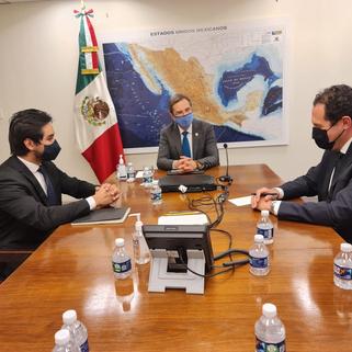 Concluye reunión de trabajo EU-México; coordinaron estrategias laborales y de Derechos Humanos