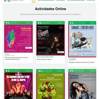 """El portal """"Capital Cultural en Nuestra Casa"""" atrae a millones de usuarios"""