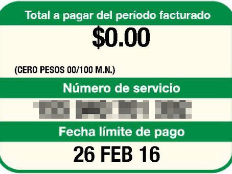 Recibo de luz en cero pesos con propuesta energética de Anaya