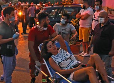 Explosión en Líbano podría agravar crisis por Covid-19