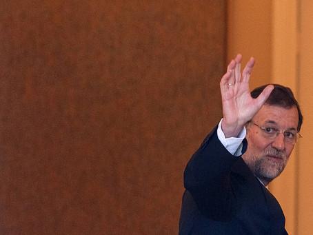 Se despide Rajoy del cargo de presidente del Gobierno español
