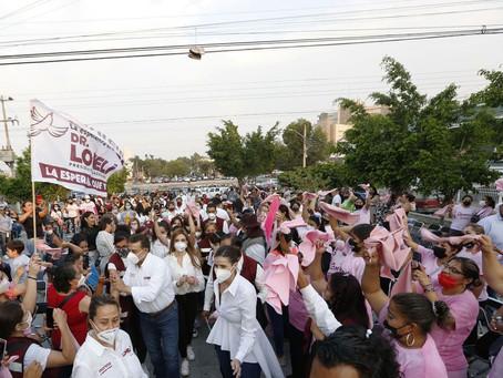 Gabinete prioritario y más, propone Carlos Lomelí por las mujeres tapatías