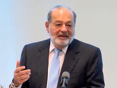 Slim: Suspender la construcción de NAICM, es evitar el crecimiento de la nación