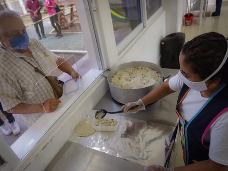 Suma gobierno de Solidaridad más de 400 mil alimentos entregados durante la pandemia