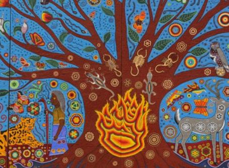 Gustavo Cárdenas Moreno promueve arte huichol
