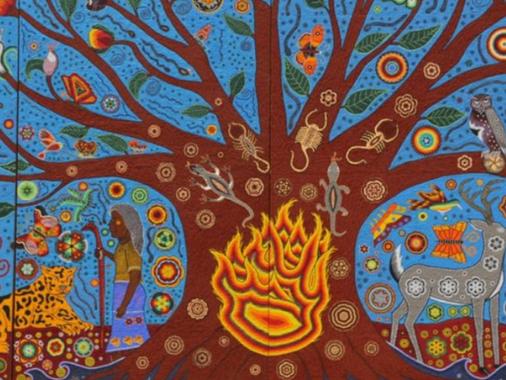 Gustavo Cárdenas Moreno promueve el arte huichol en el mundo
