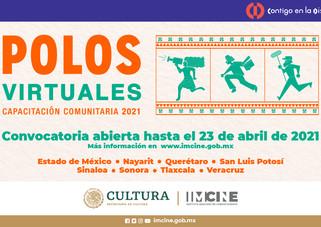 El Imcine abre la primera etapa de la convocatoria de formación audiovisual Polos virtuales 2021