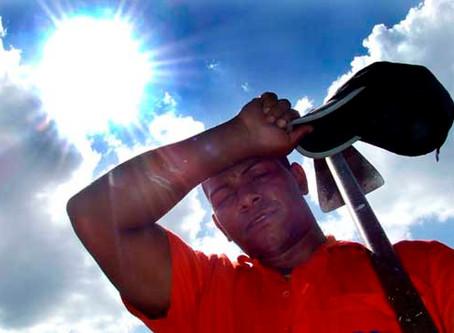 Meteorológico Nacional alerta a 10 estados por calor extremo de 45 grados