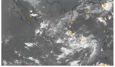 Habrá lluvias intensas  y descargas eléctricas en Guerrero y Michoacán