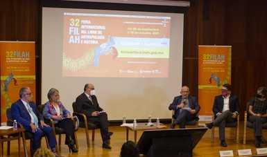 Anuncian 32° Feria del Libro de Antropología e Historia; Ecuador y Tlaxcala, invitadas de honor