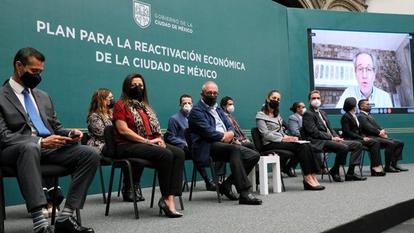 Presentan gobierno capitalino y empresarios plan de reactivación económica para la CDMX