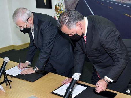 SCT-UIF firman convenio para detectar anomalías en el Sistema Financiero de empresas contratadas