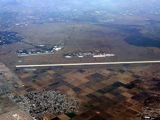 Aparece dueño de terrenos del aeropuerto de Santa Lucía