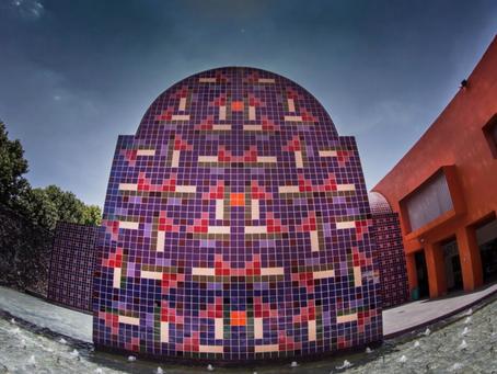 """El """"antimural"""" escenario abierto de Vicente Rojo es un símbolo del Centro Nacional de las Artes"""