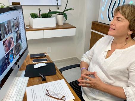 Laura Beristain convoca a trabajar en favor de niños y adolescentes