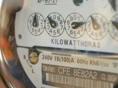Frenan incrementos en tarifas eléctricas