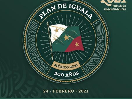 Se cumplen 200 años de la proclamación del Plan de Iguala