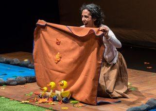 Con-templar, teatro infantil, se presenta en el Teatro El Granero del Centro Cultural del Bosque