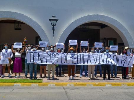 Piden renuncia y alistan denuncia contra Alfaro ante la CIDH por crisis humanitaria en Jalisco