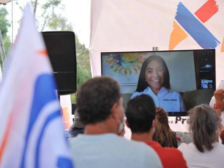 Karla Fiesco presenta plan de infraestructura para Izcalli