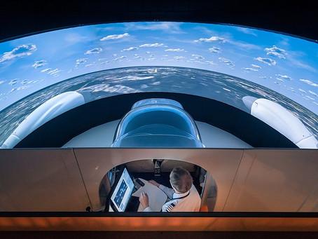 Gustavo Cárdenas Moreno: Diamond Aircraft ofrece un servicio de simulación a distancia