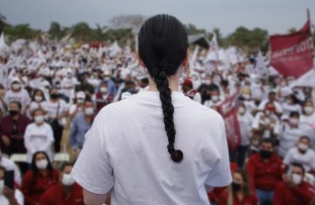 Llegará la honestidad, pluralidad y transparencia a Tlajomulco: Marcela Michel