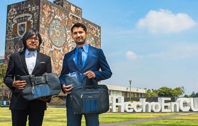 Universitarios innovan cargadores solares para dispositivos móviles
