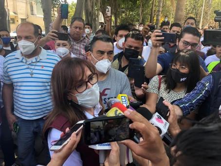 """Exige Yeidckol ante IEPC """"piso parejo"""" para candidatos de Morena en Jalisco"""