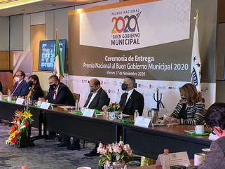 Cuajimalpa repite Premio a la Excelencia Municipal en Materia de Seguridad